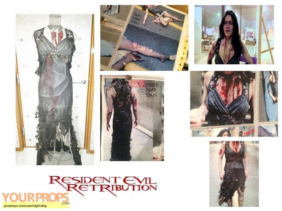 Resident Evil  Retribution original movie costume