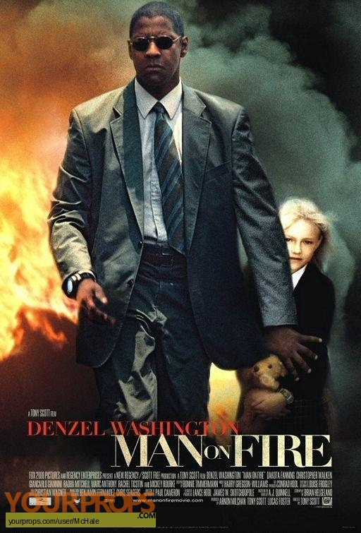 Man on Fire replica movie prop
