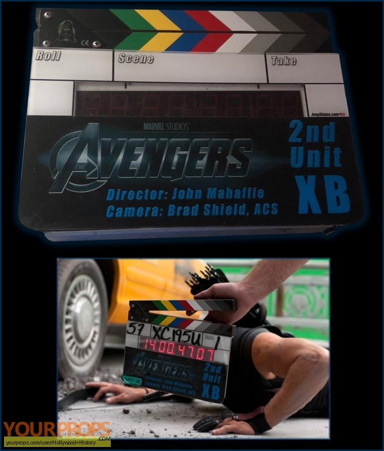 The Avengers original production material