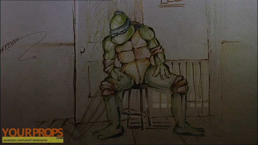 Teenage Mutant Ninja Turtles replica movie prop