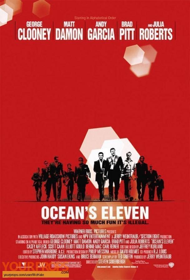 Oceans Eleven replica movie prop