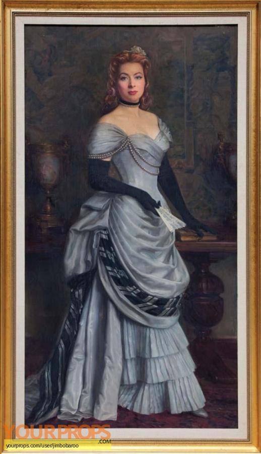 Mrs  Parkington replica set dressing   pieces