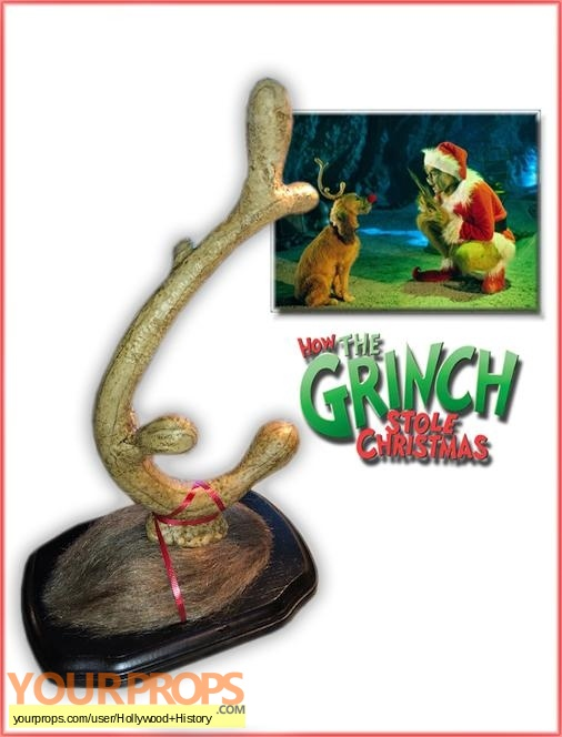 How the Grinch Stole Christmas original movie prop