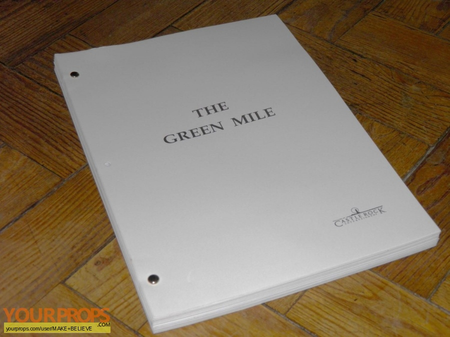 The Green Mile replica production material