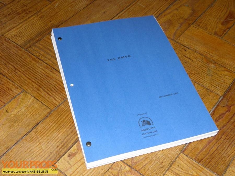 The Omen replica production material
