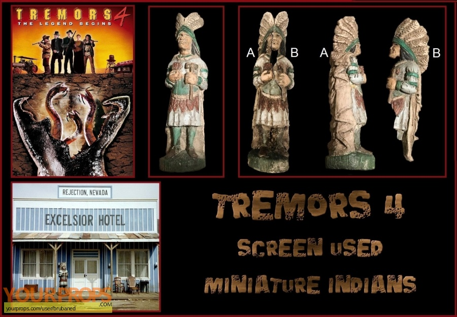 Tremors 4 original movie prop