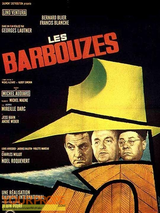 Les Barbouzes replica movie prop