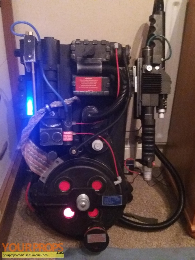 Ghostbusters made from scratch movie prop weapon