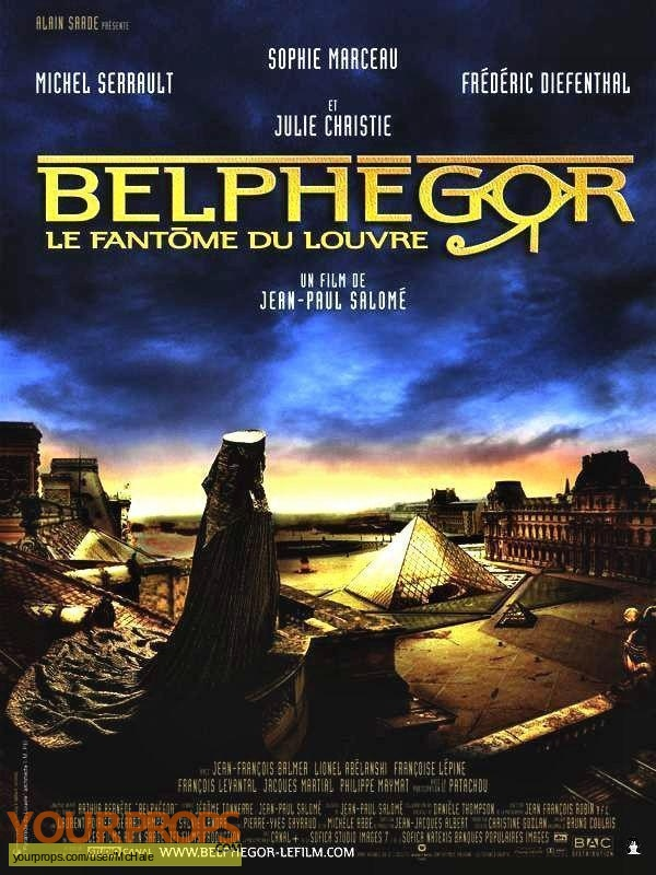 Belphegor  Le Fantome du Louvre original movie prop