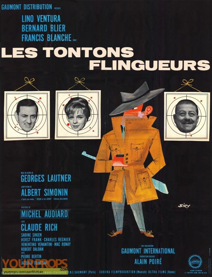 Les Tontons Flingueurs replica movie prop