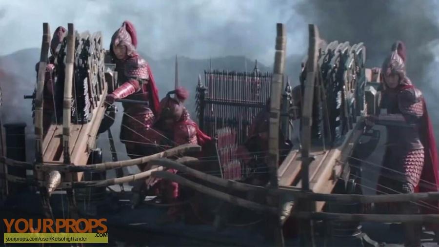 The Great Wall original movie costume