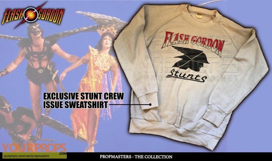 Flash Gordon original film-crew items