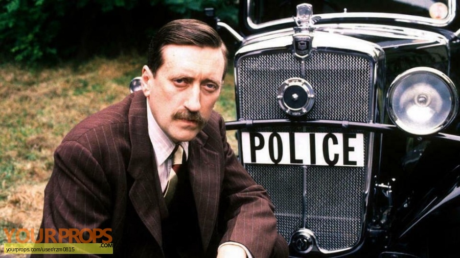 Agatha Christie  Poirot replica movie prop