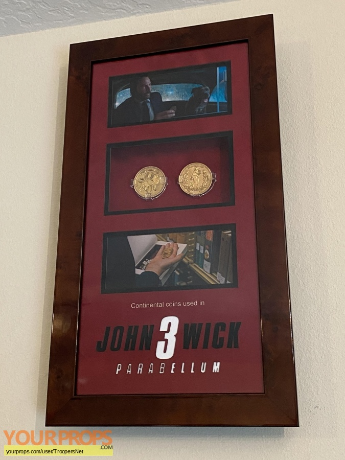 John Wick 3  Parabellum original movie prop