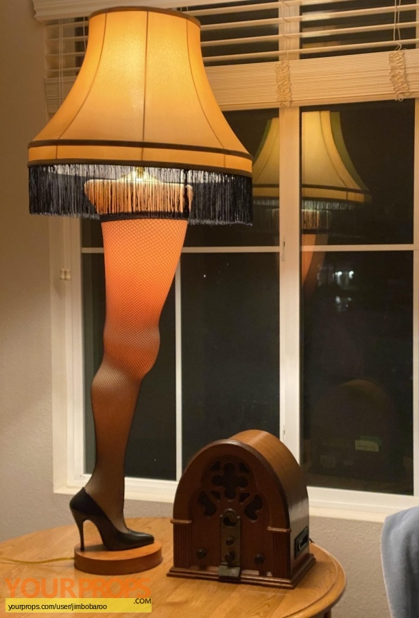 A Christmas Story replica movie prop