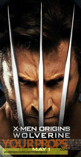 X-Men Origins  Wolverine original movie prop