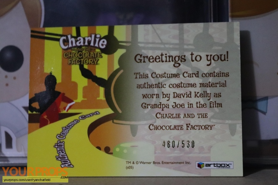 Charlie and the Chocolate Factory swatch   fragment movie costume