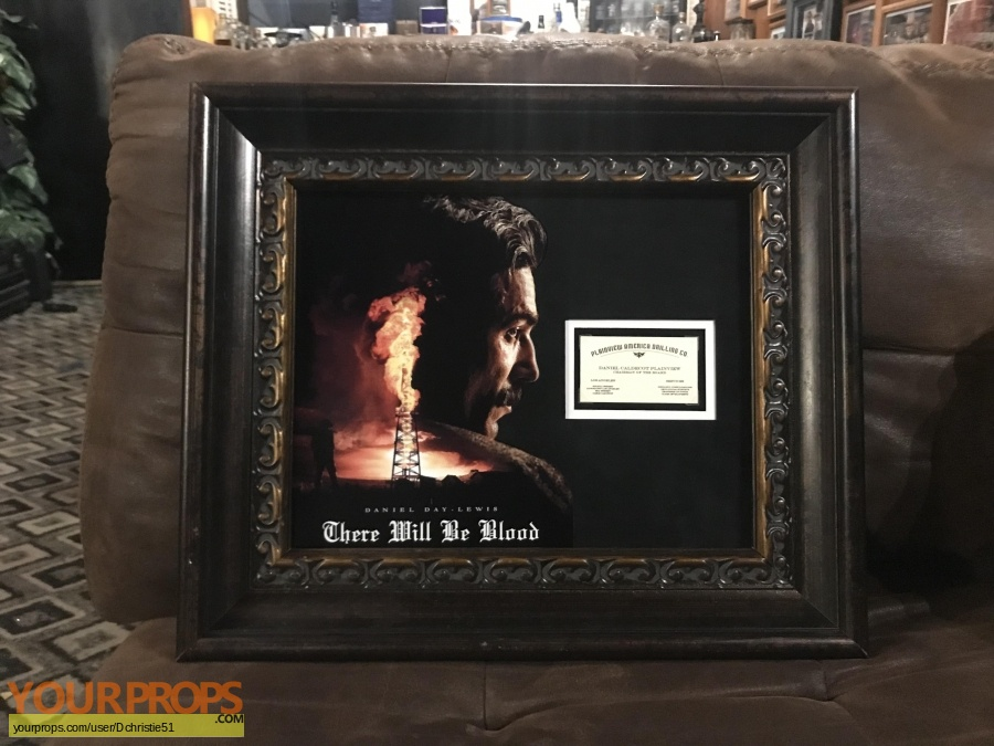 There Will Be Blood original movie prop