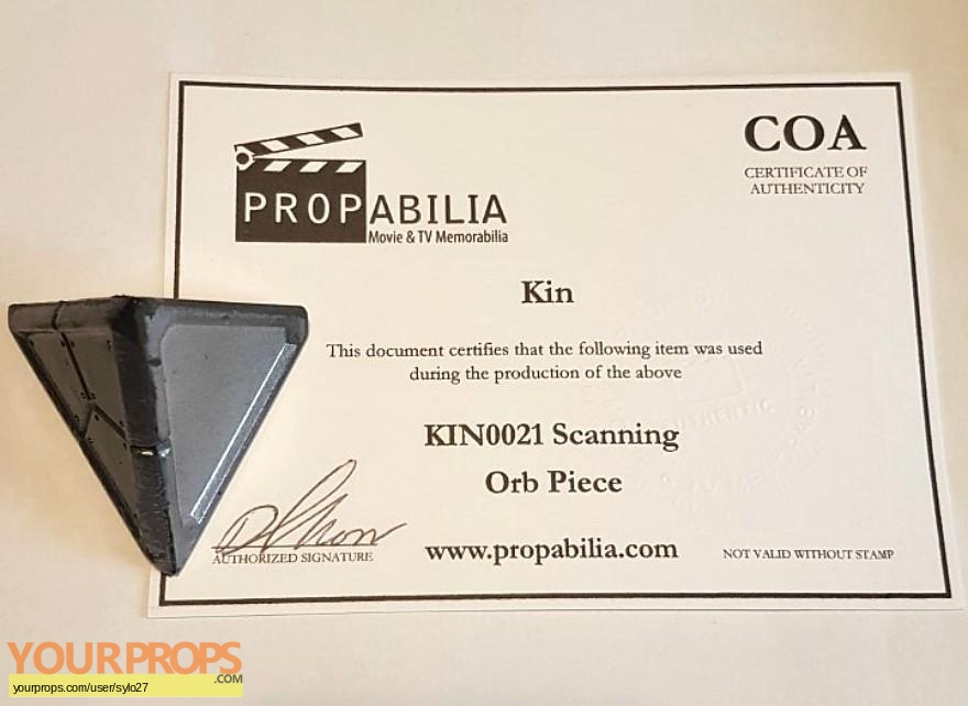 Kin original movie prop