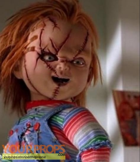 Seed of Chucky swatch   fragment movie costume