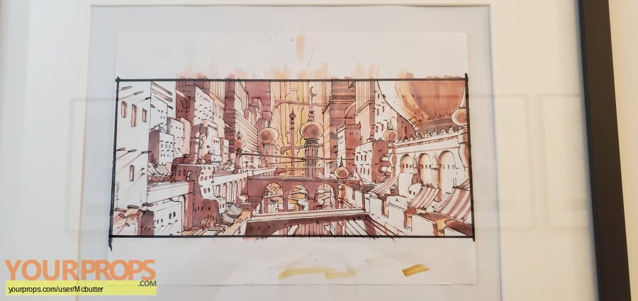 The Fifth Element (5th) original production artwork
