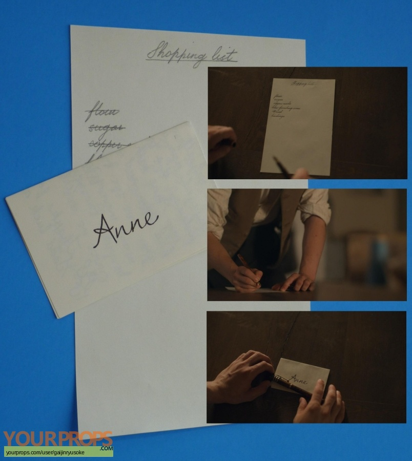 Anne with an E  (2017-2019) original movie prop