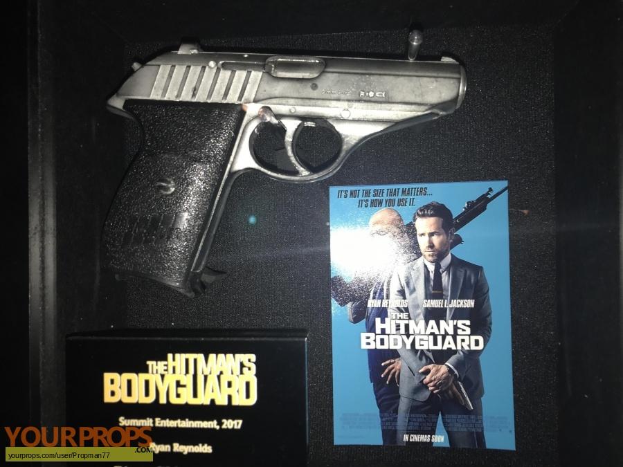 The Hitman s Bodyguard original movie prop