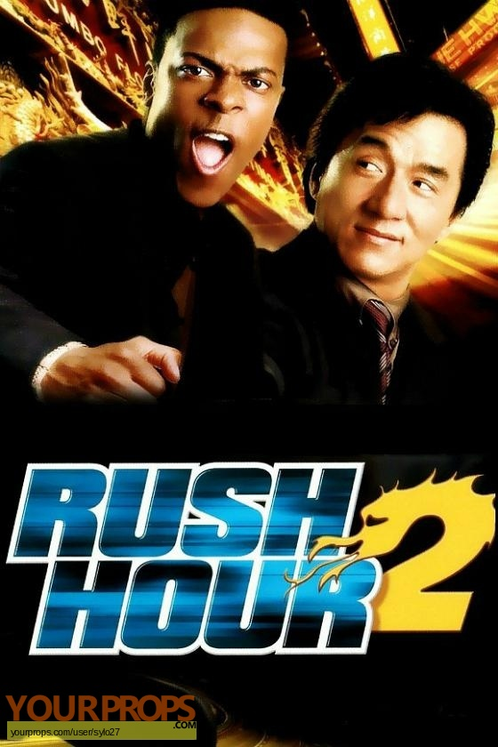 Rush Hour 2 original movie prop