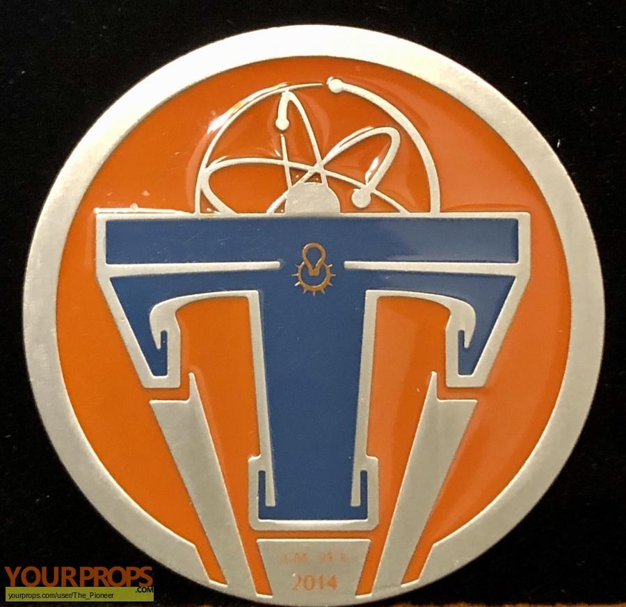 Tomorrowland original film-crew items