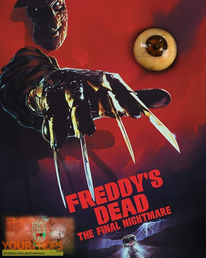 Freddys Dead  The Final Nightmare original movie prop