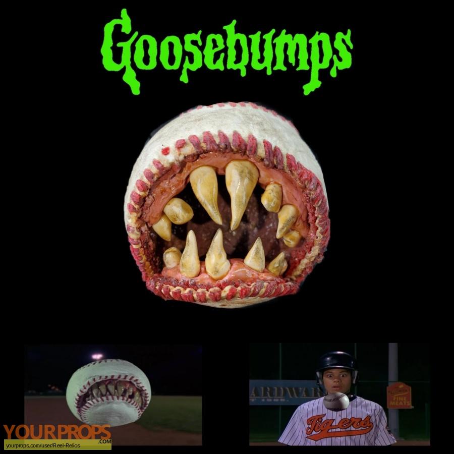 Goosebumps original movie prop