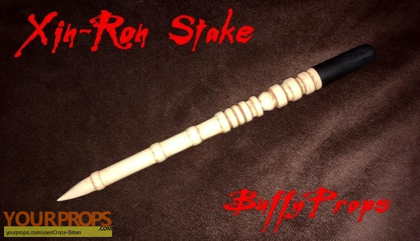 Buffy the Vampire Slayer made from scratch movie prop