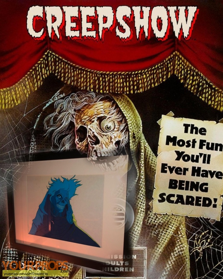 Creepshow original production artwork