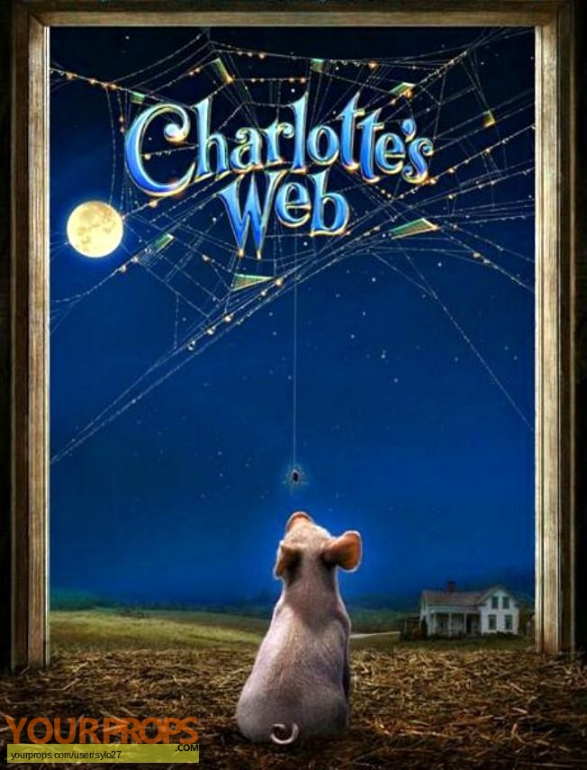 Charlottes Web original movie prop