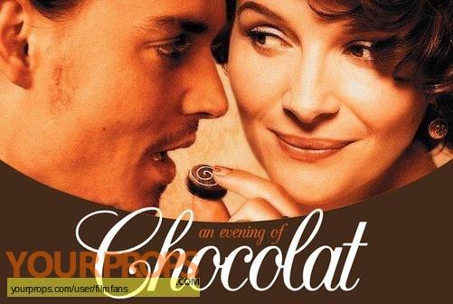 Chocolat original movie prop