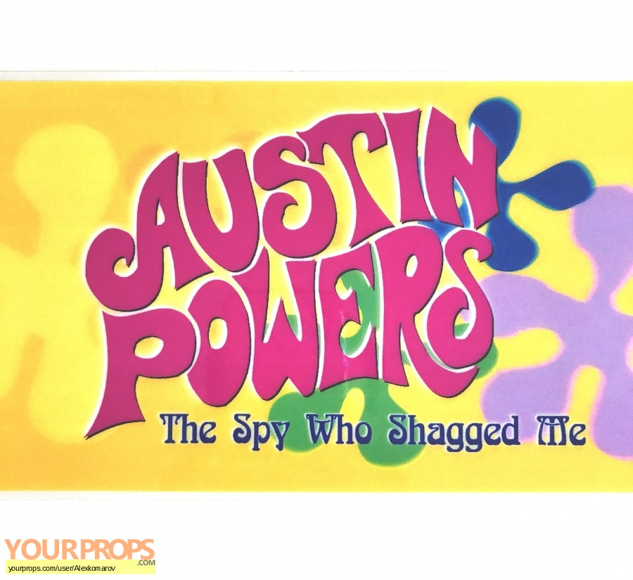 Austin Powers  The Spy Who Shagged Me original production material