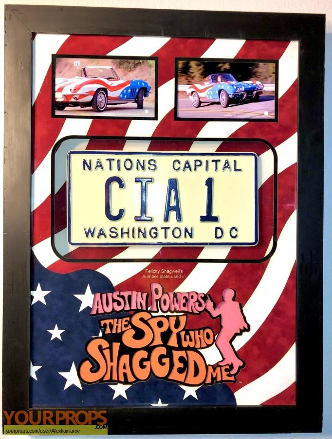 Austin Powers  The Spy Who Shagged Me original movie prop