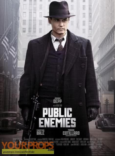 Public Enemies replica movie prop