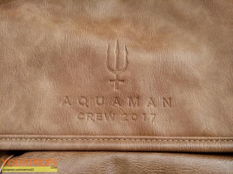 Aquaman original film-crew items