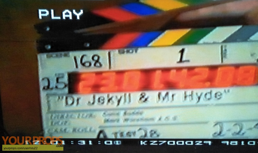 Dr  Jekyll and Mr  Hyde original production material