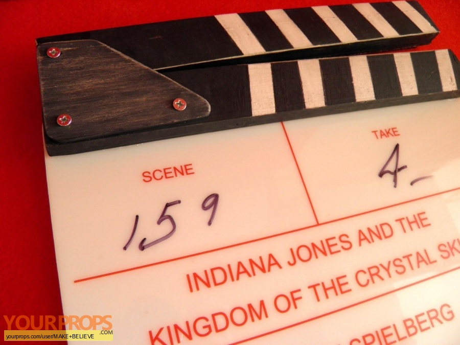 Indiana Jones And The Kingdom Of The Crystal Skull made from scratch production material