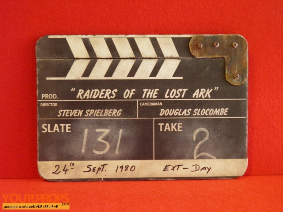 Indiana Jones And The Raiders Of The Lost Ark made from scratch production material