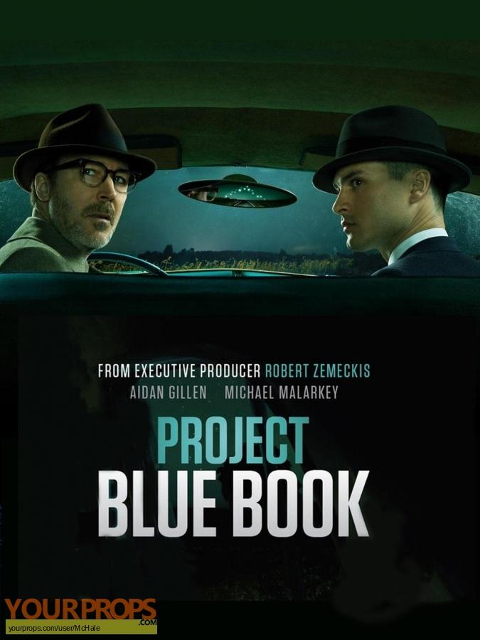 Project Blue Book (TV 2019) original movie prop