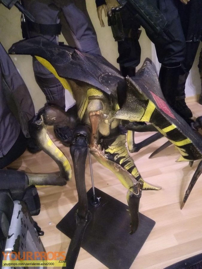 Starship Troopers 3  Marauder original model   miniature