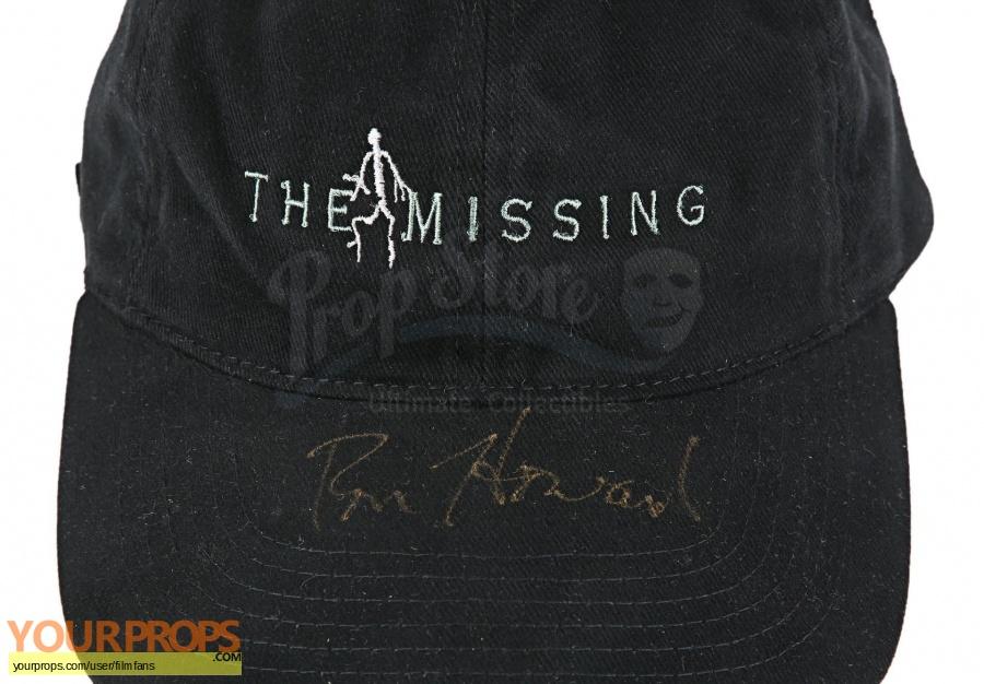 The Missing original film-crew items