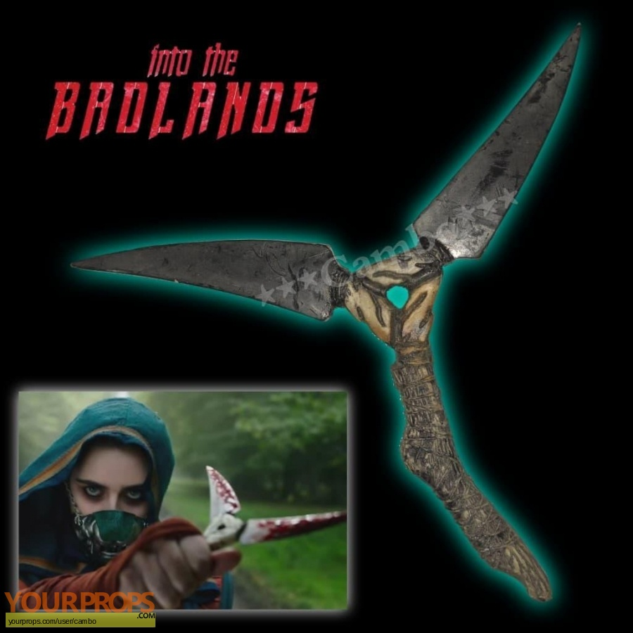Into the Badlands original movie prop
