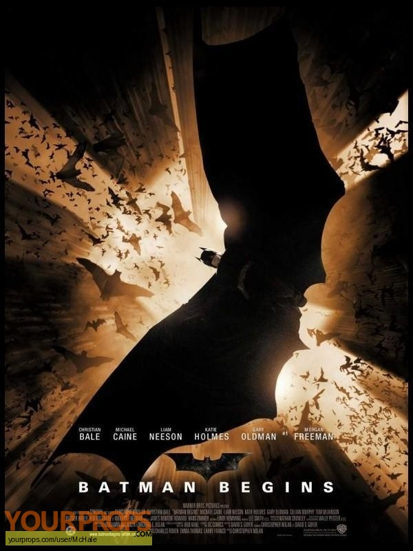 Batman Begins replica movie prop