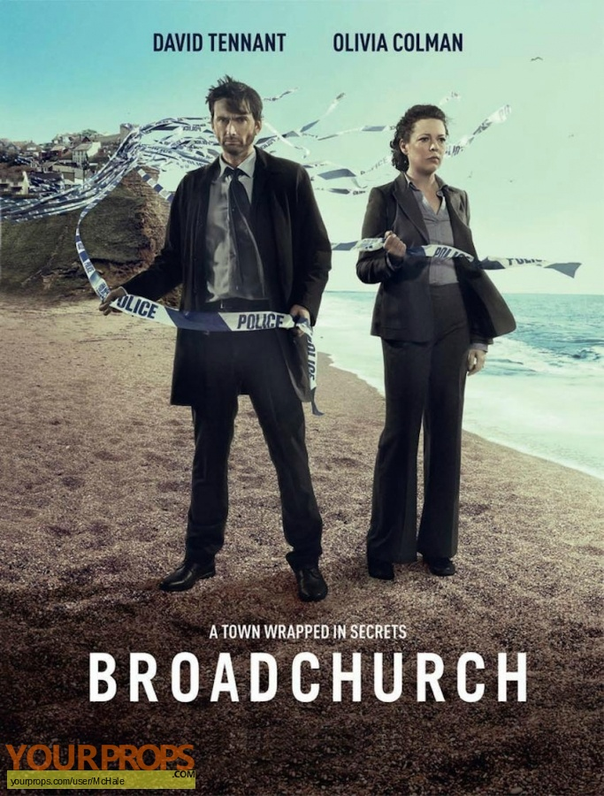 Broadchurch original movie prop