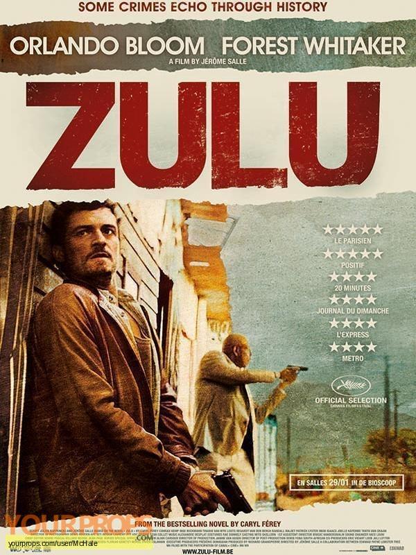 Zulu replica movie prop