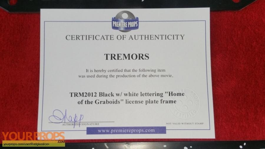 Tremors 3 original movie prop
